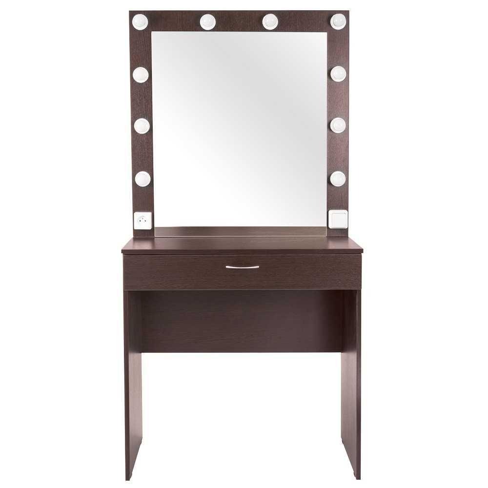 ANIKA | 80x160 | 1 ящик, венге гримерный столик с зеркалом