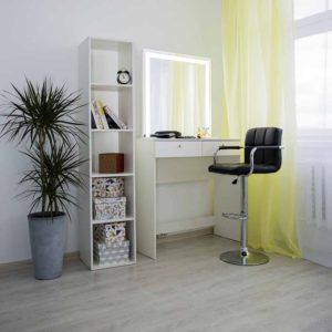 Гримерный столик с зеркалом LED _0003_L59A6908