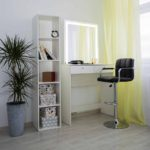 Гримерный столик с зеркалом LED _0004_L59A6911
