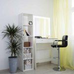 Гримерный столик с зеркалом LED _0007_L59A6915