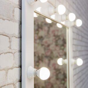 Гримерное зеркало с подсветкой 50х50 см makeupmirror_25